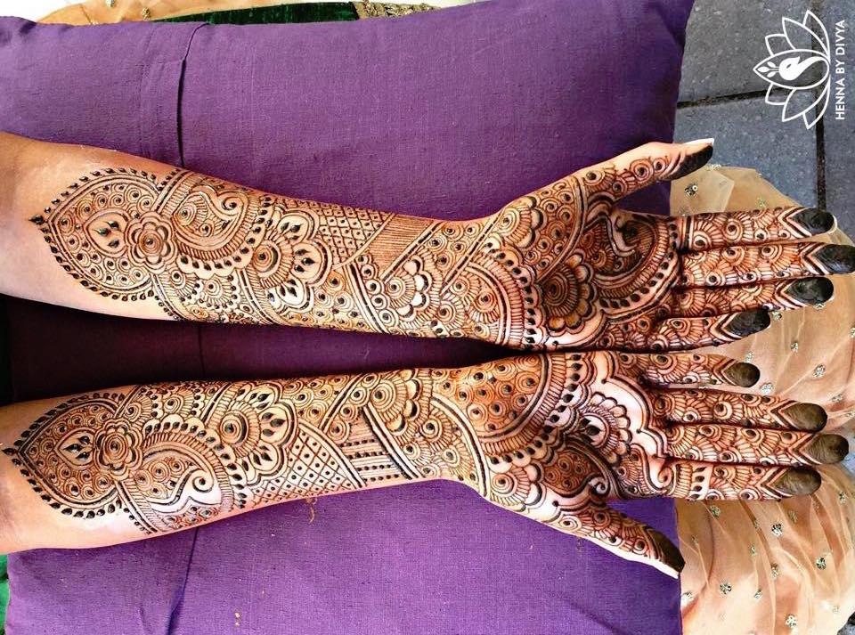 Henna By Divya Indian Wedding Buzz